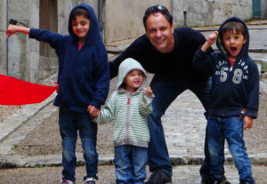 Pierre Babon et ses enfants