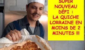 Recetas francesas: como preparar la Quiche Lorraine