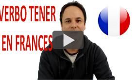 Verbo TENER en FRANCES