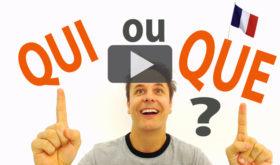 QUI o QUE en Francés