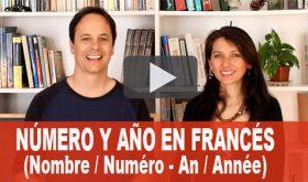 Nombre / Numéro – An / Année en Francés